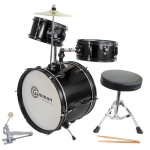Drum Set Black Complete