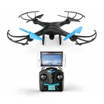 UO83 Blue Black Drone Camera